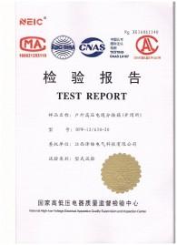 高压型式试验报告